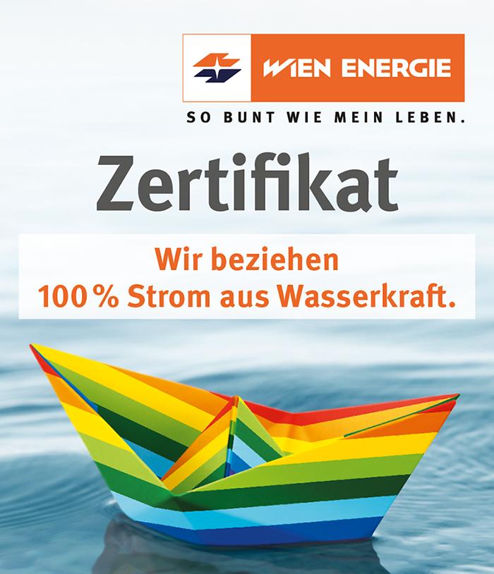Strom aus Wasserkraft
